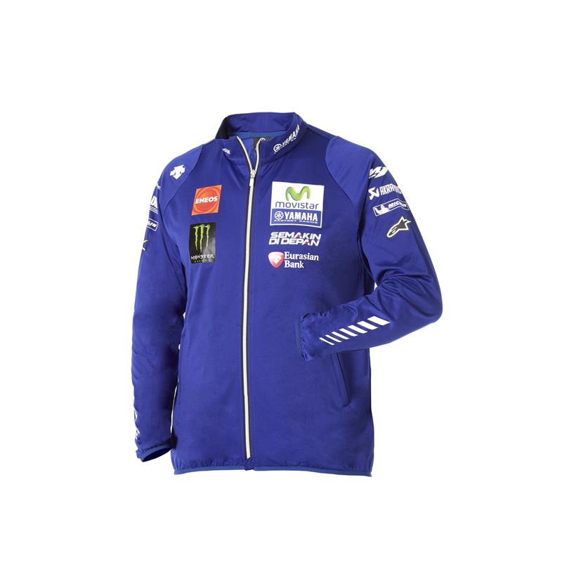 Blouson Softshell officiel du Team Yamaha MotoGP