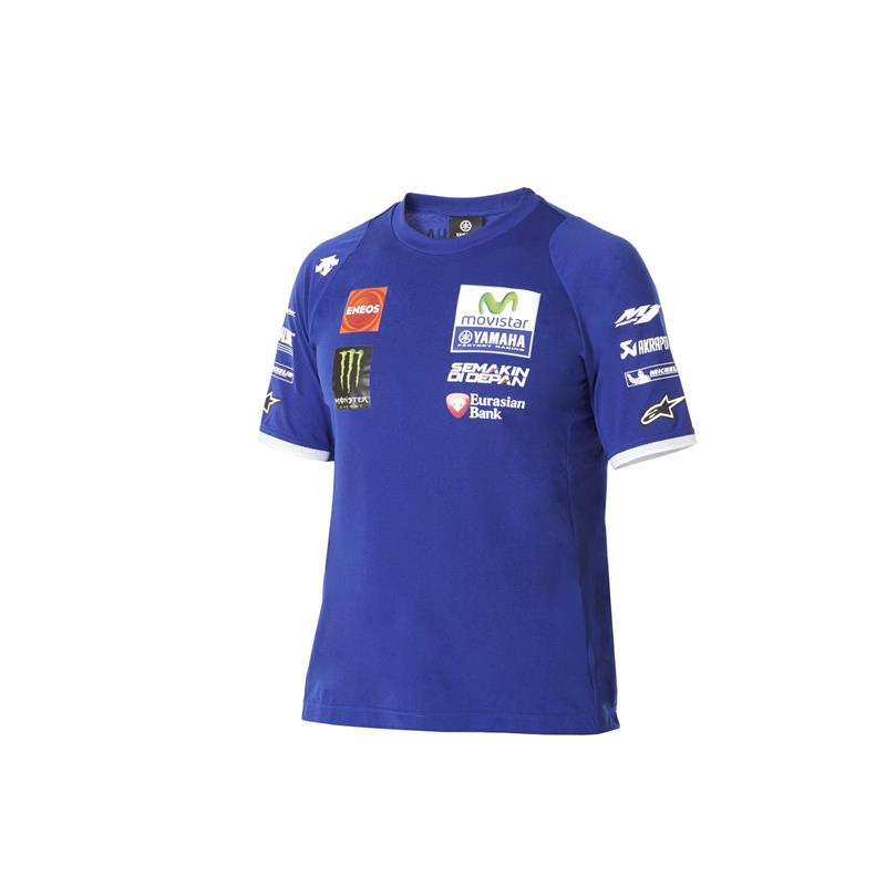 T-shirt officiel de la Yamaha MotoGP Team