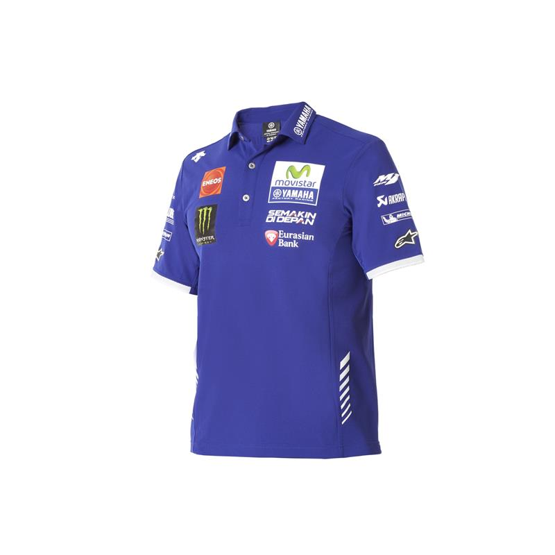 Tricou polo Yamaha MotoGP Team Authentic