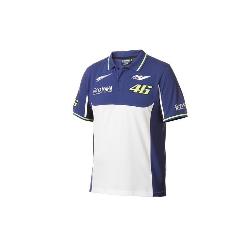 Pologenser med Rossi- og Yamaha-logoer