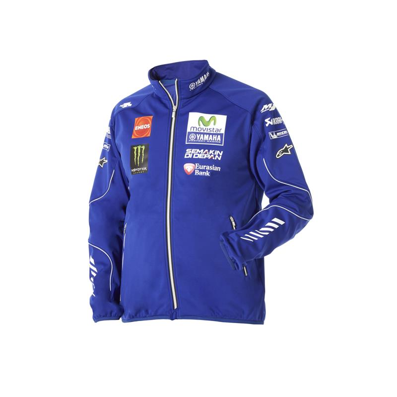 Veste zippée officielle du Team Yamaha MotoGP