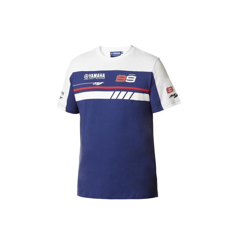 T-skjorte med Lorenzo- og Yamaha-logoer