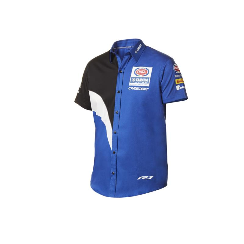 Replika-Pit-Shirt Pata Yamaha WorldSBK Team