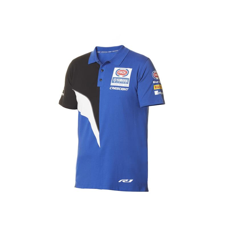 Replika av Yamaha WorldSBK Factory Team-polotröja