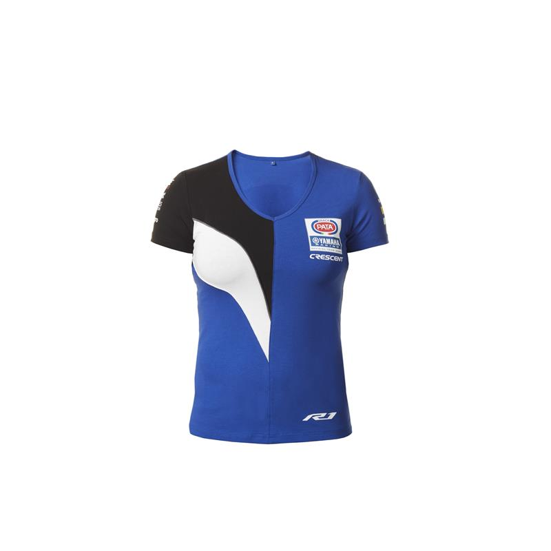 Replika av Yamaha WorldSBK Factory Team-t-shirt