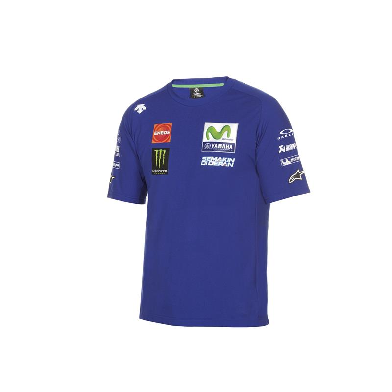 T-shirt officiel du Team Yamaha en MotoGP