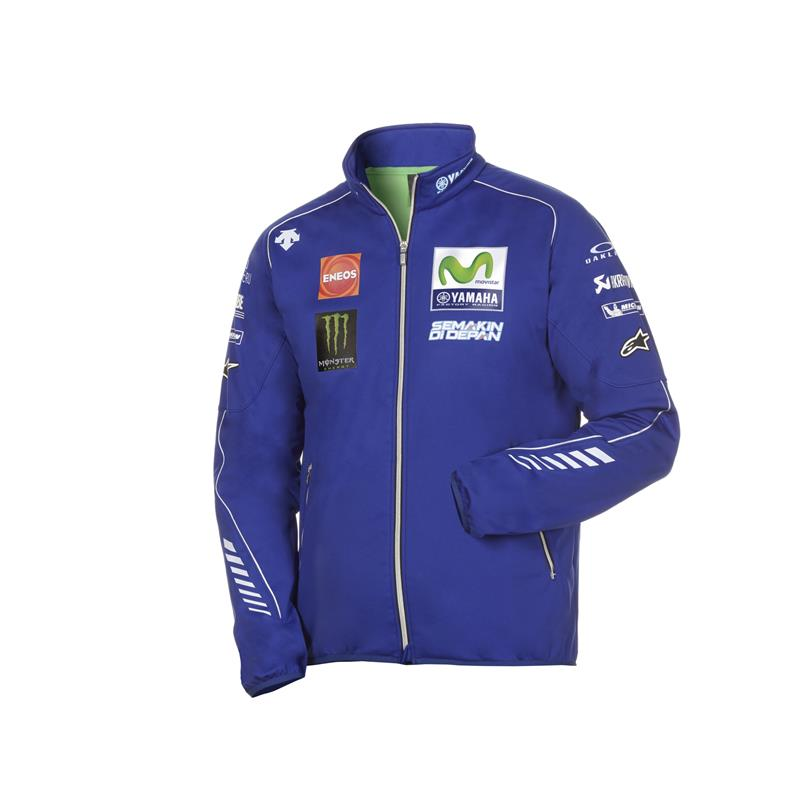 Blouson Softshell officiel de la Yamaha MotoGP Team