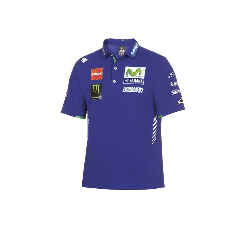 Polo officiel du Team Yamaha MotoGP