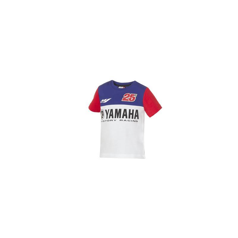 Viñales–Yamaha rövid ujjú póló