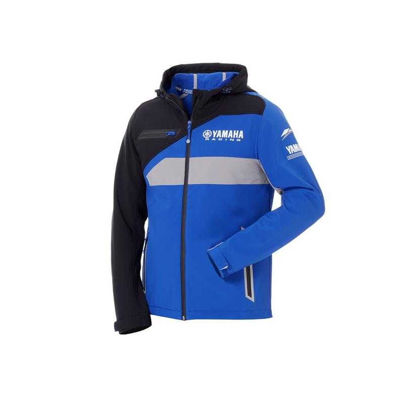 Paddock Blue-softshell-jakke for menn
