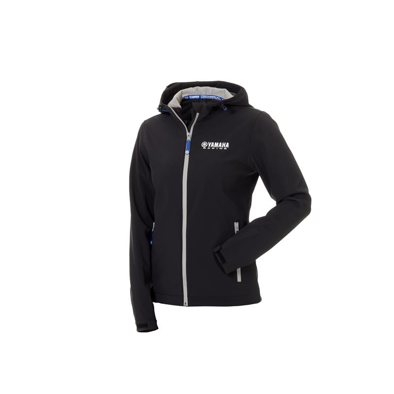 Paddock Blue svart softshell-jakke for kvinner