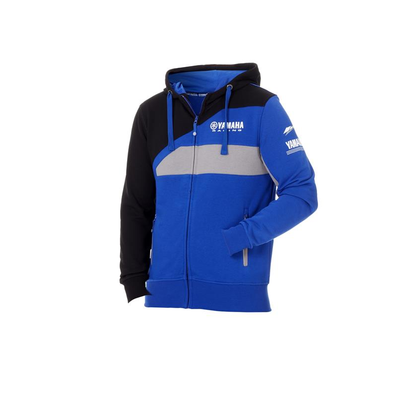 Sweat à capuche Racing homme Paddock Bleu