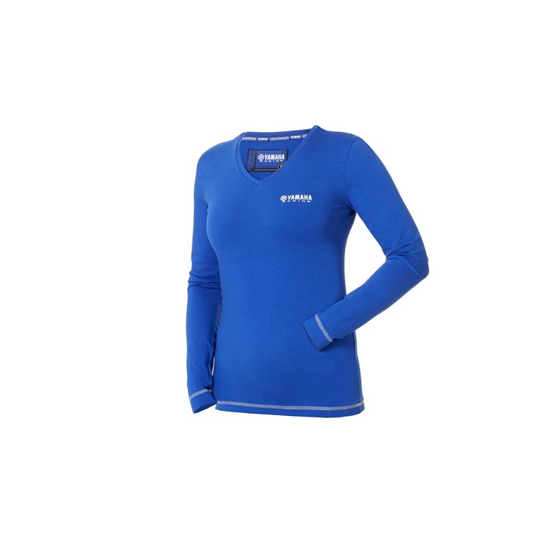 Paddock Blue Women's Long Sleeve Top