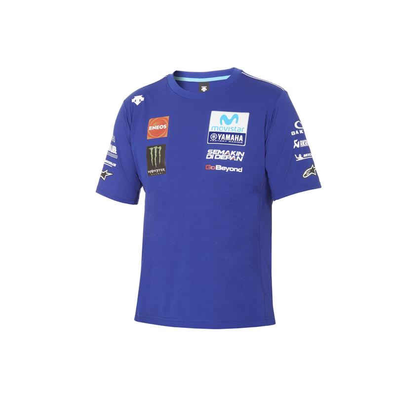 T-shirt officiel Yamaha MotoGP