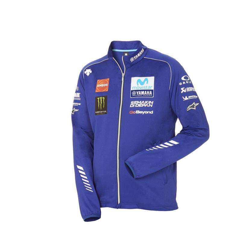 Yamaha Moto GP Team Authentic Sweatshirt Tarzı Ceket