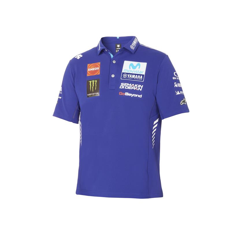 Yamaha MotoGP Team Authentic Polo Üst