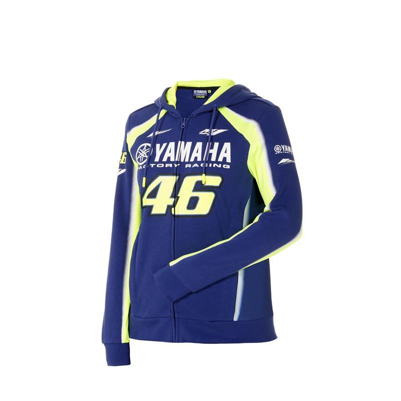 VR46 — damska bluza z kapturem Yamaha