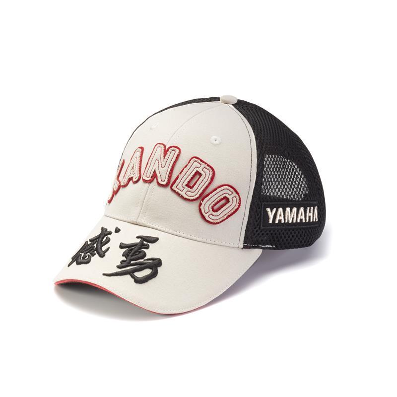 Καπέλο Kando σε υπόλευκο χρώμα