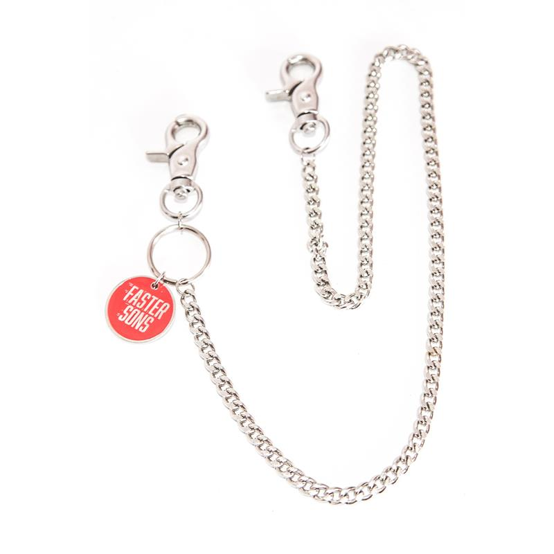 Faster Sons Chain Keyring