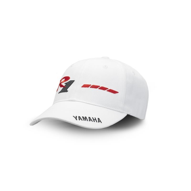 Cappellino bianco del ventesimo anniversario della YZF-R1