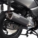 Slip-on Muffler Black X-MAX 125 (non-ABS)