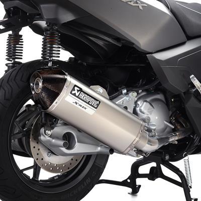 Marmitta slip-on in titanio X-MAX 250