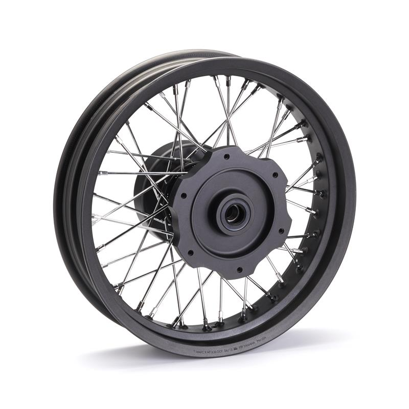 Custom Spoke Rear Wheel