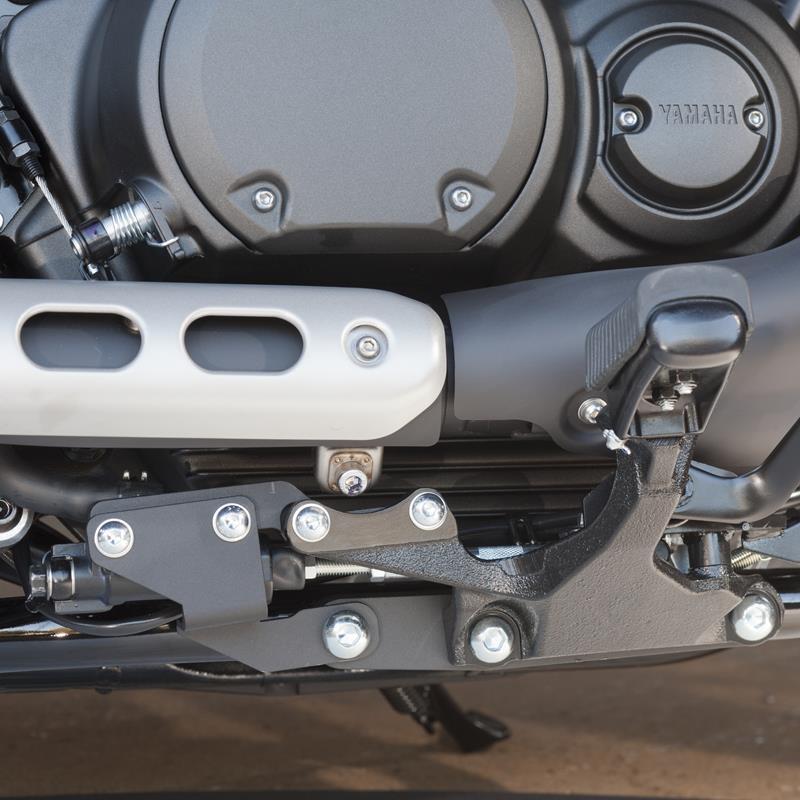 Rider Foot Peg Relocation Kit - Xv950
