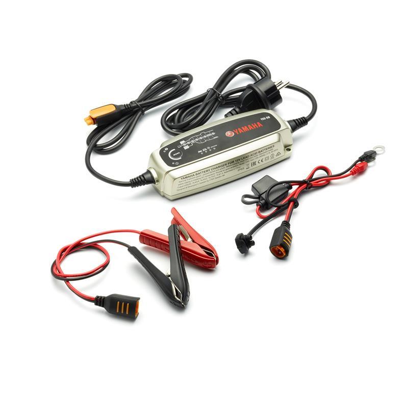 Yec 50 battery charger yme yec50 uk 00 yamaha motor uk for Yamaha atv batteries