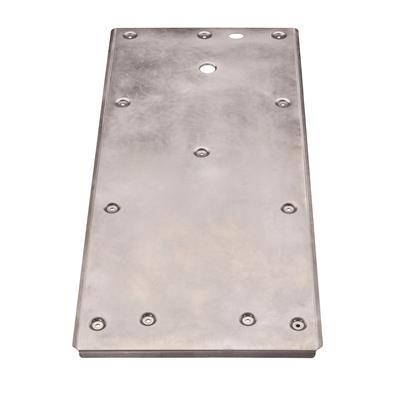 Hasplåtsats i aluminium