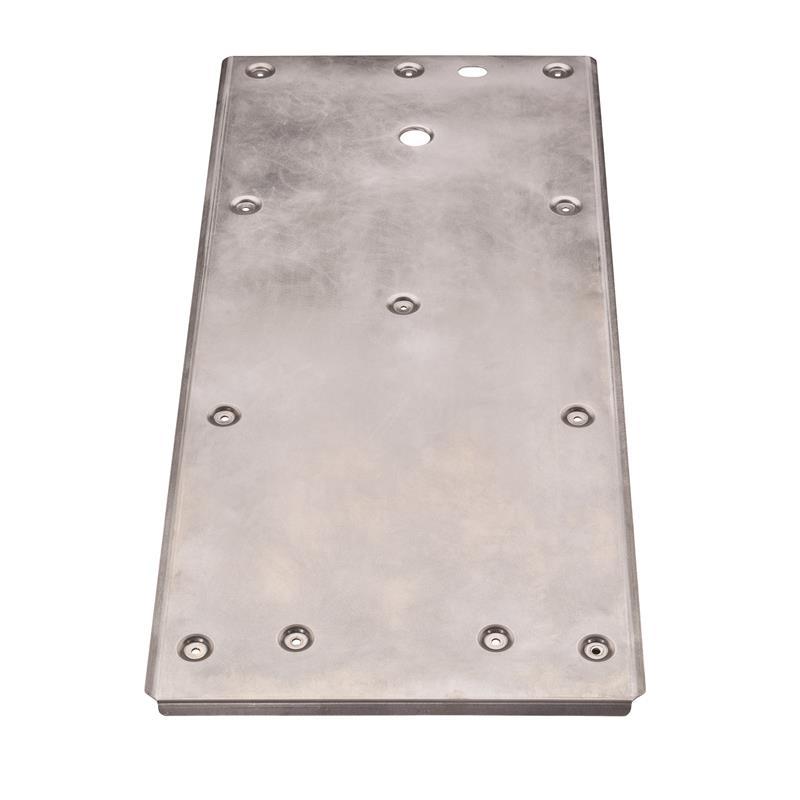 Ensemble de plaques de protection en aluminium
