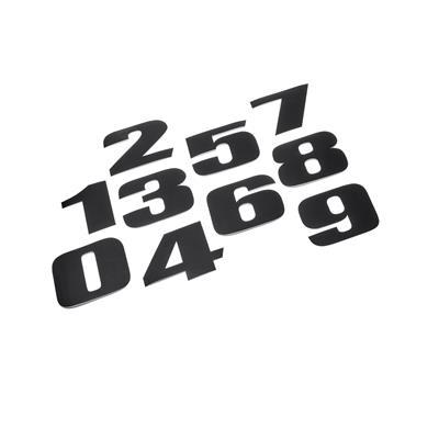 Nummernaufklebersatz