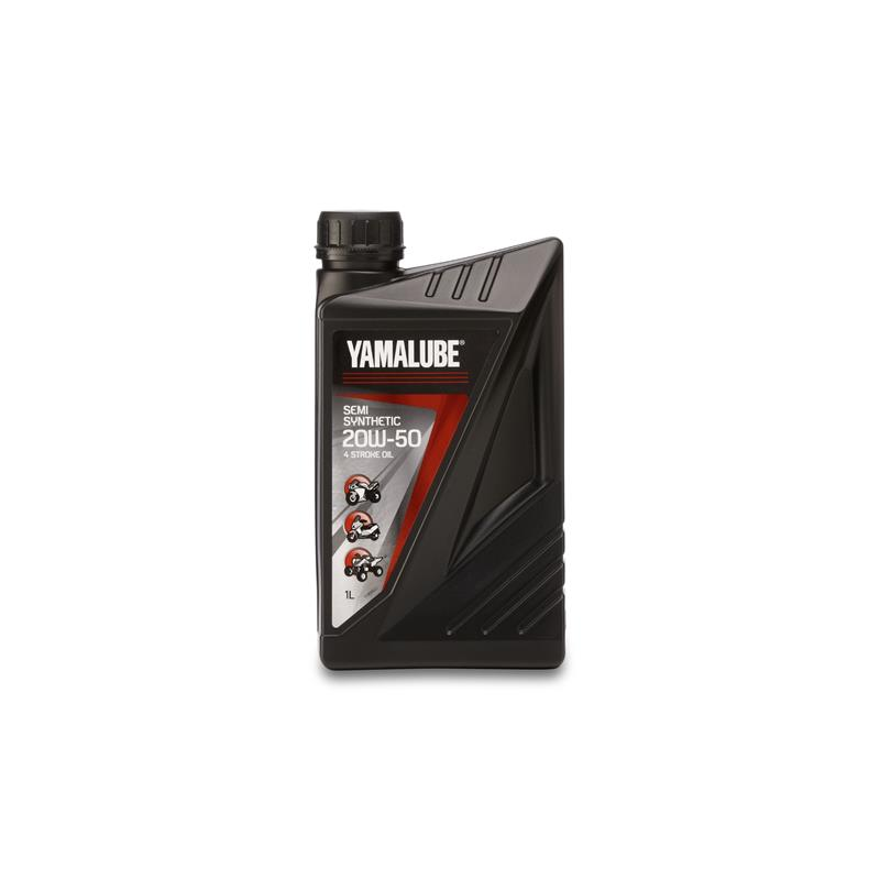 Huile moteur semi-synthèse Yamalube® 4-S 20W-50