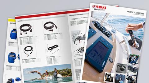 Yamaha Marine accessoires catalogus 2014