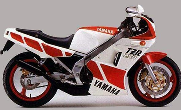 Yamaha Technology 1985: Aluminum Deltabox Frame