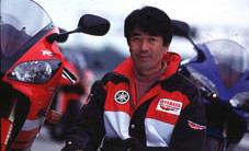 Mr. 'NO COMPROMISE' Kunihiko Miwa was project leader for Yamaha R series. He loves sportbikes and hates half hearted technical solutions.