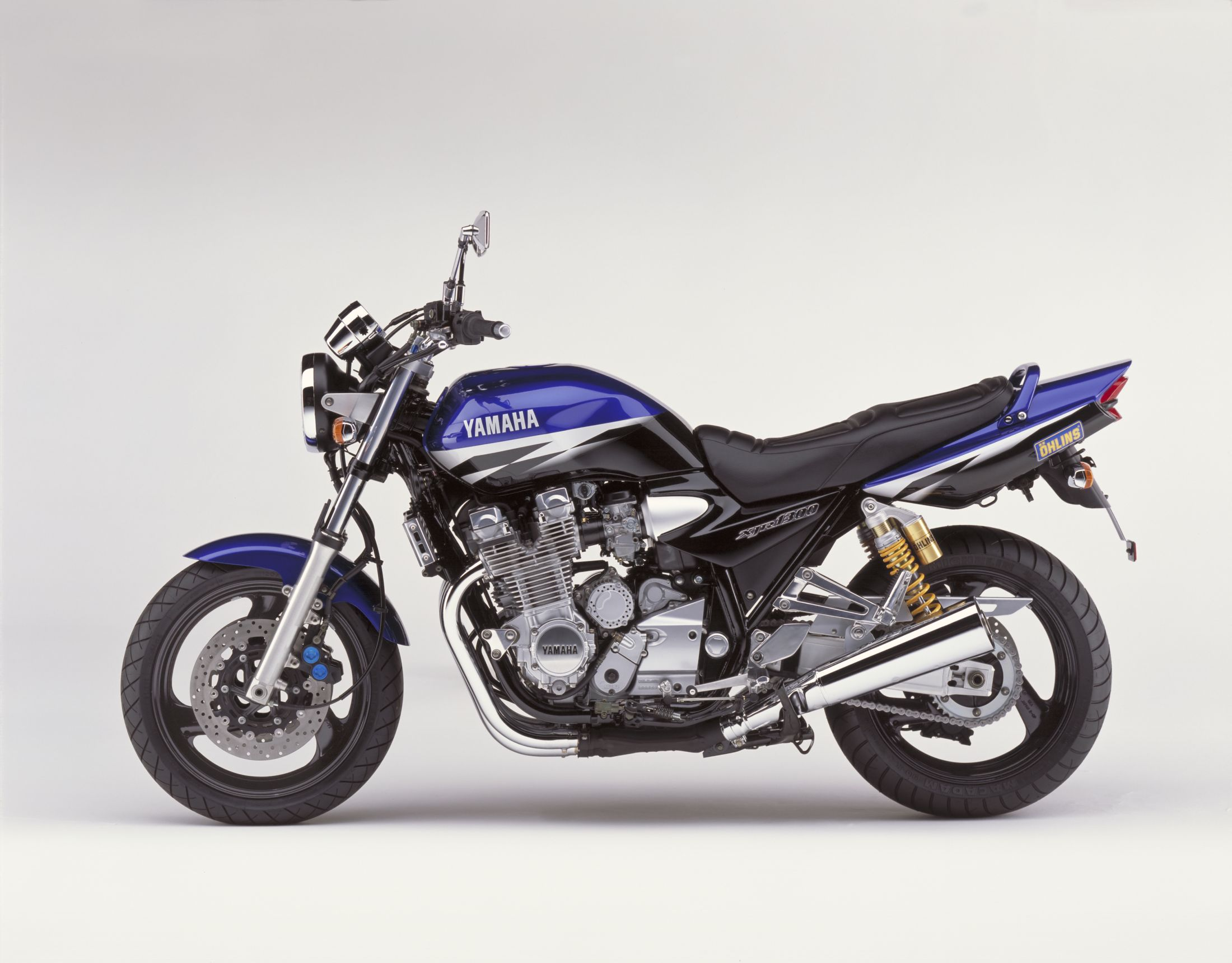 Мотоцикл yamaha xjr 1300 50th anniversary 2005