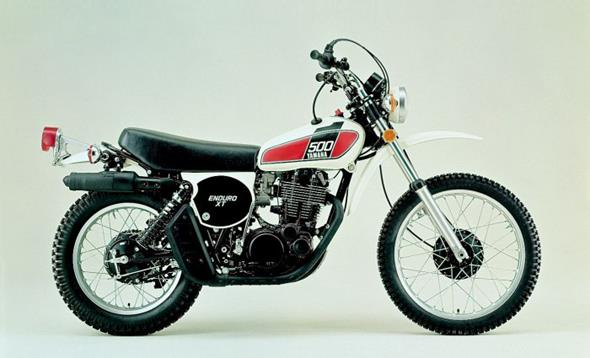 XT500: Model Evolution (in Englisch)