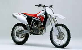 1998: The motocross bike YZ400F was the base for the WR enduro version