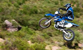 WR450F: less rider fatigue