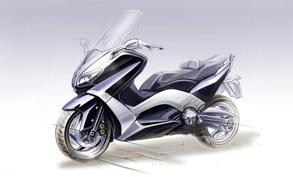 TMAX 2012. More lightweight, more power, more TMAX than ever.