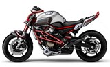 Yamaha Cage-Six concept: Extreme style for the XJ6