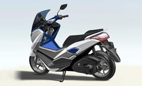 2015_G125YM_Scooters_Design sketch, rear view, refined and robust from 236-613076 (gc_single_col)