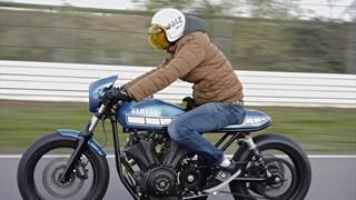 Marcus Walz präsentiert als neuestes YARD Built Projekt einen ultra-coolen Café Racer