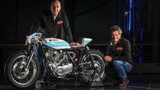 SR400 von Krugger Motorcycle