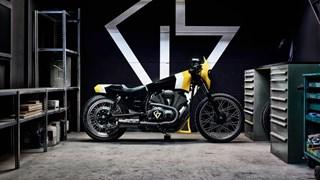 Schweizer Custom-Designer GS Mashin stellt Yard Built XV950 'ULTRA' vor