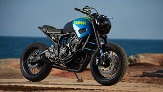 XSR700 Otokomae by AD HOC Café Racer