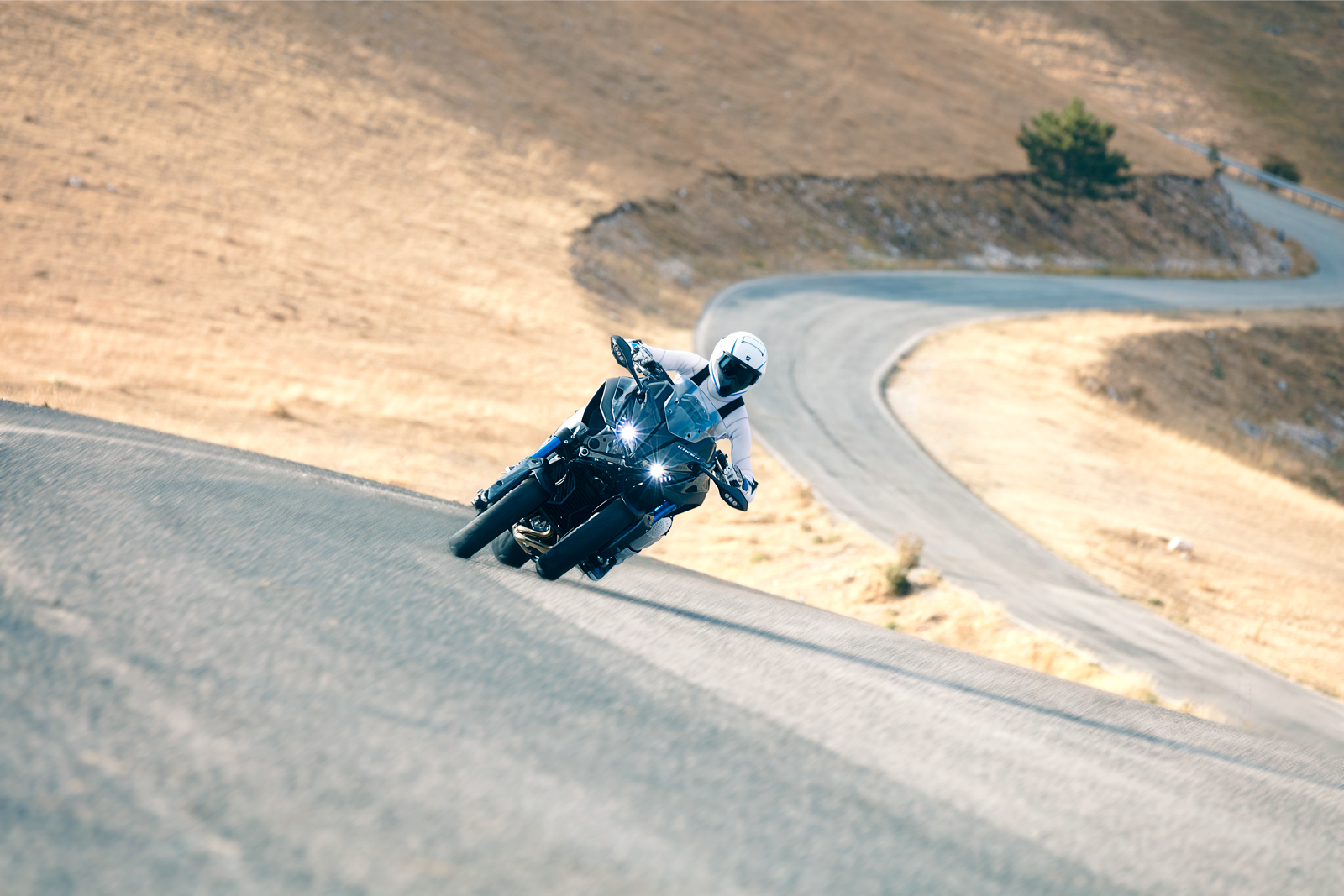 Furthermore, Yamaha's electronic D-MODE offers three different riding modes  that can be selected on the fly to suit rider preferences and different  riding ...