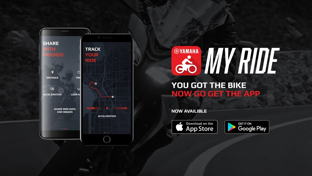 Yamaha MyRide app