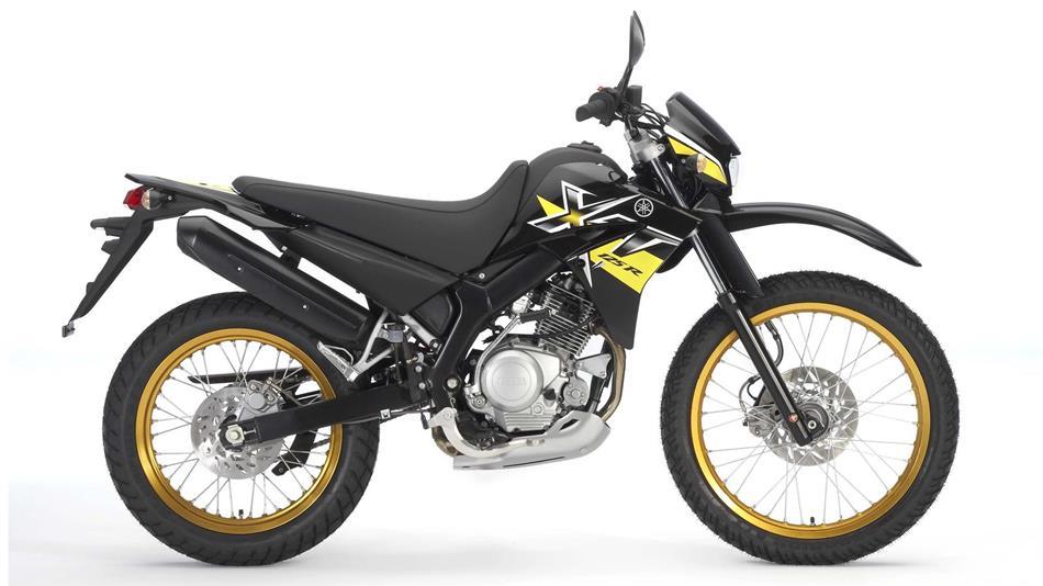 xt125r 2009 motocicli yamaha motor italia. Black Bedroom Furniture Sets. Home Design Ideas